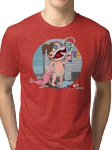 Toothpaste Tri-blend T-Shirt