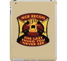 NCR 1st Recon iPad Case/Skin
