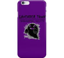 Lavender Town Paranormal iPhone Case/Skin