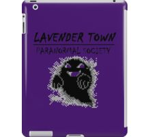Lavender Town Paranormal iPad Case/Skin