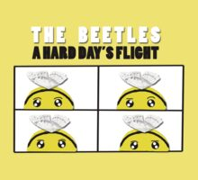 The Beetles, A Hard Day's Flight One Piece - Short Sleeve