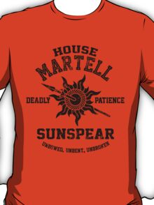 Team Martell (Black) T-Shirt