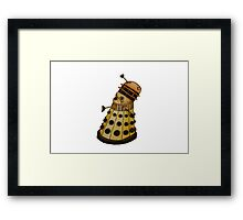 Dalek x French Bulldog Framed Print
