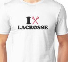 I love Lacrosse Unisex T-Shirt