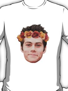 Dylan O'Brian Flower Crown T-Shirt