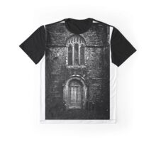 Old Door and Window Graphic T-Shirt