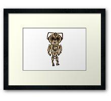 Cybermen x French Bulldog Framed Print