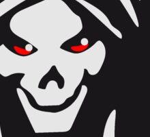 Death hooded evil creepy Sticker