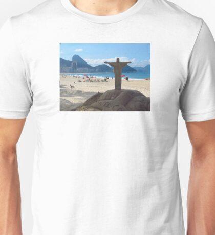 Copacabana Beach, Rio de Janeiro Unisex T-Shirt