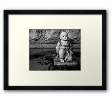 Little Buddha Framed Print