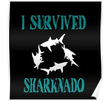 I Survived Sharknado  Poster