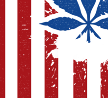 American Weed Sticker