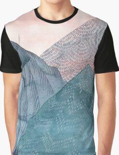 O'er The Wild Mountains Graphic T-Shirt