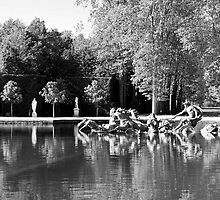 Fountain of Apollo at Versailles by Alex Cassels