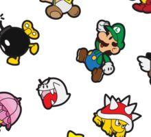 It's a SUPER Mario Pattern. Sticker
