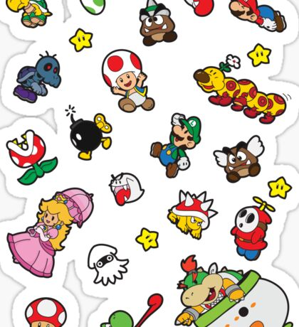 It's a SUPER Mario Pattern. Sticker