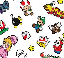 It's a SUPER Mario Pattern. by alexhefe