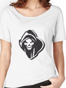 Death hooded evil creepy Women's Relaxed Fit T-Shirt