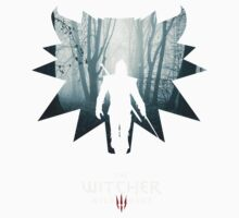 The White Wolf - The Witcher t-shirt / Phone case / Mug 1 One Piece - Short Sleeve