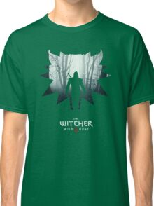 The White Wolf - The Witcher t-shirt / Phone case / Mug 1 Classic T-Shirt