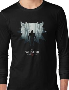 The White Wolf - The Witcher t-shirt / Phone case / Mug 1 Long Sleeve T-Shirt