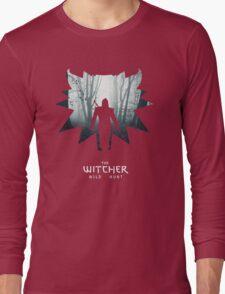 The White Wolf - The Witcher t-shirt / Phone case / Mug 1 Long Sleeve T-Shirt