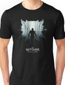 The White Wolf - The Witcher t-shirt / Phone case / Mug 1 Unisex T-Shirt