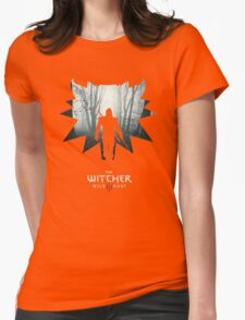 The White Wolf - The Witcher t-shirt / Phone case / Mug 1 Womens Fitted T-Shirt