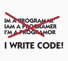 I Write Code by artpolitic