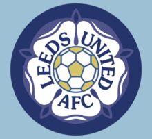 Leeds United Retro Badge Kids Clothes