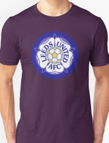 Leeds United Retro Badge T-Shirt