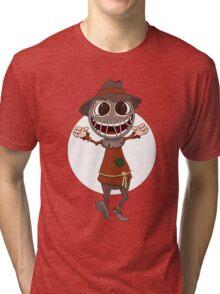 Scarecrow surprises everyone Tri-blend T-Shirt