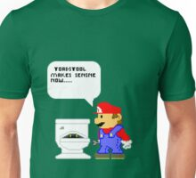 Mario hates his Job Unisex T-Shirt
