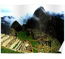 Macchu Pichu Poster