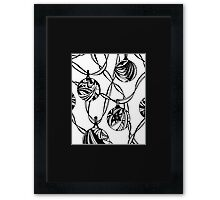 Baubles - Aussie Tangle Miniature Framed Print