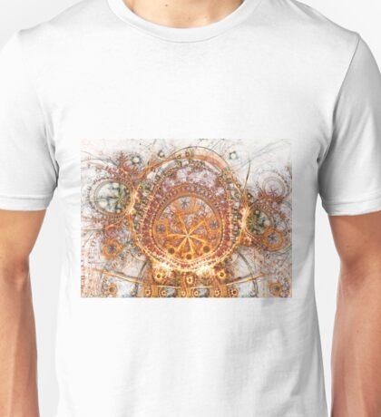 Solar sanctum - Abstract Fractal Artwork T-Shirt