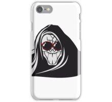 Death hooded evil creepy sunglasses iPhone Case/Skin