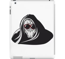 Death hooded evil creepy sunglasses iPad Case/Skin
