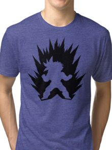 Cartoon Fighter DBZ Tri-blend T-Shirt