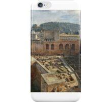 La alcazaba de la Alhambra iPhone Case/Skin