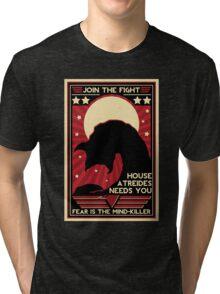 Fear is the Mind-Killer Tri-blend T-Shirt