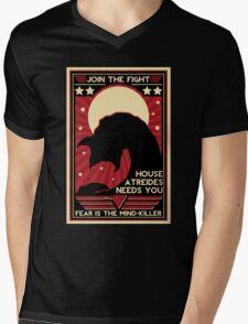 Fear is the Mind-Killer Mens V-Neck T-Shirt