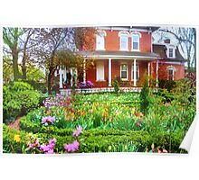Garden Glory Poster