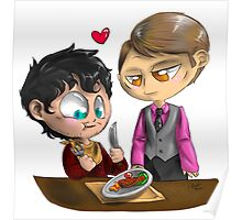 Chibi Hannibal - Cannibalism in two Poster