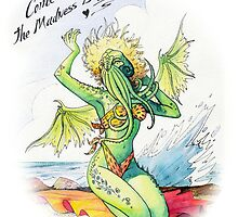 Pin-up Cthulhu by Figment Forms