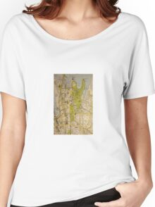Sydney City Map Women's Relaxed Fit T-Shirt