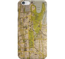 Sydney City Map iPhone Case/Skin