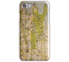 Sydney City Map iPhone Case/Skin