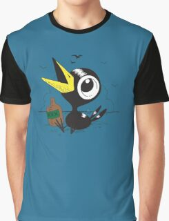 Drinky Crow! DOOK DOOK DOOK! Graphic T-Shirt