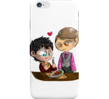 Chibi Hannibal - Cannibalism in two iPhone Case/Skin